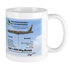 B-52 Stratofortress 1-800-Big-Bomb Mug