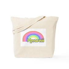 Hawaii Rainbow Tote Bag