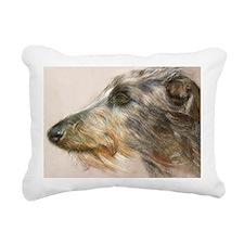 Scottish Deerhound Paste Rectangular Canvas Pillow