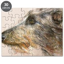 Scottish Deerhound Pastel Puzzle