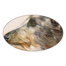 Scottish Deerhound Pastel Decal
