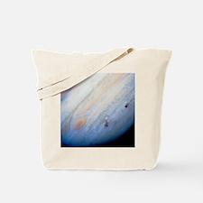 Impact sites, Comet Shoemaker-Levy/Jupite Tote Bag