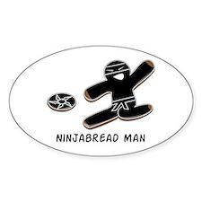 Ninjabread Man Decal