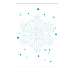 Snowflakes Postcards (Package of 8)