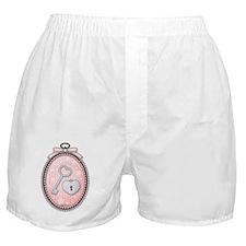 Heart Key Lock in a Cute Frame Boxer Shorts