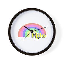 Hilo, Hawaii Wall Clock