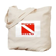 Dive Hilo, Hawaii Tote Bag