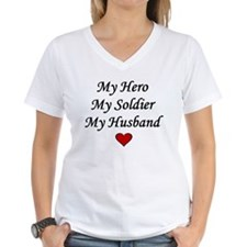 My Hero My Soldier My Husband Shirt