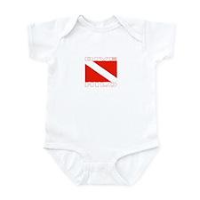 Dive Hilo, Hawaii Infant Bodysuit