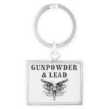 Gunpowder  Lead plain Landscape Keychain