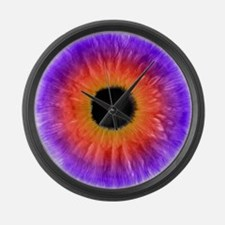 Iris Large Wall Clock