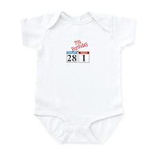 02/29 My Birthday Infant Bodysuit