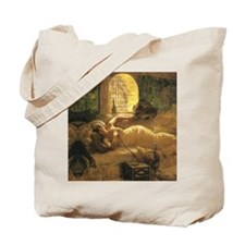 An Odalisque by Tote Bag