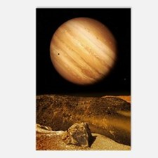 Jupiter from Io Postcards (Package of 8)
