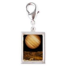 Jupiter from Io Silver Portrait Charm