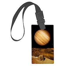 Jupiter from Io Luggage Tag