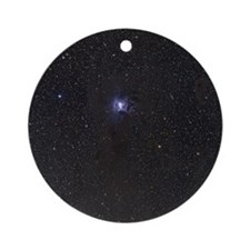 Iris Nebula Round Ornament