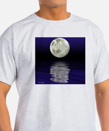 Moon over water T-Shirt