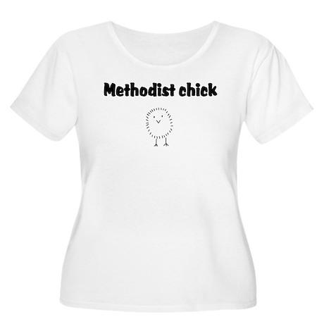 Methodist Chick Women's Plus Size Scoop Neck T-Shi