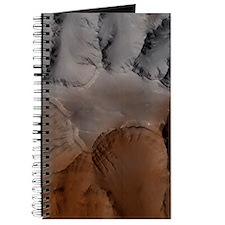 Mars Global Surveyor image of Valles Marin Journal