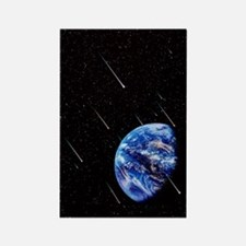 Meteors and Earth Rectangle Magnet