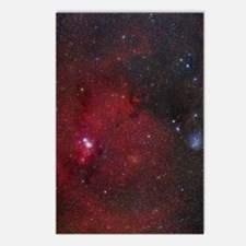 NGC 2264 nebulae Postcards (Package of 8)