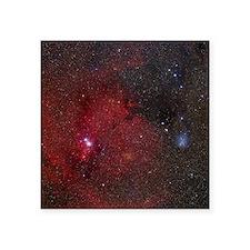 "NGC 2264 nebulae Square Sticker 3"" x 3"""