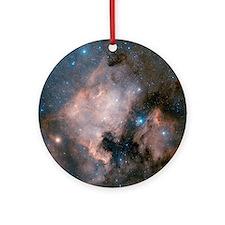 North America nebula Round Ornament