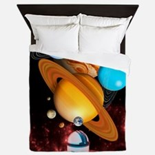 Observing the planets Queen Duvet