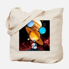Observing the planets Tote Bag