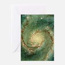 M51 whirlpool galaxy Greeting Card