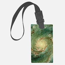 M51 whirlpool galaxy Luggage Tag