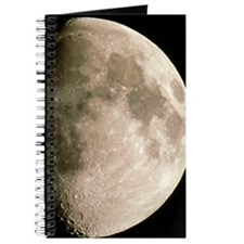 Optical image of a waxing gibbous moon Journal