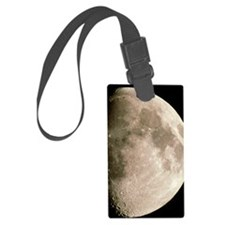 Optical image of a waxing gibbou Luggage Tag