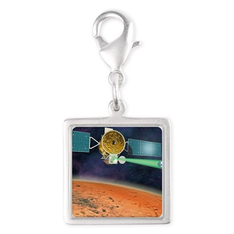 Mars Sample Return orbiter Silver Square Charm