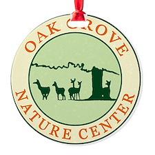 Nature Center circle logo Ornament