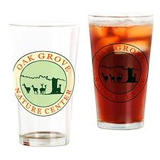 Nature Center circle logo Drinking Glass
