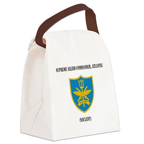 Supreme Allied Commander, Atlanti Canvas Lunch Bag