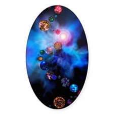 Multiple universes Decal
