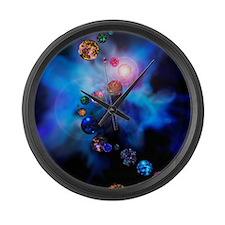 Multiple universes Large Wall Clock