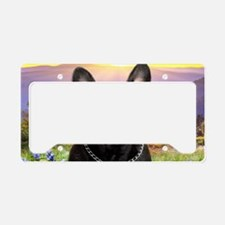 meadow(oval)2 License Plate Holder