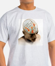 Placebo effect in the brain, artwork T-Shirt