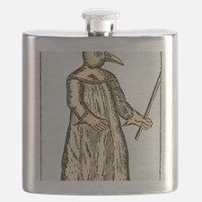 Plague doctor, France, 18th century Flask