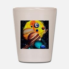 Planets Shot Glass