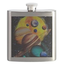Planets Flask