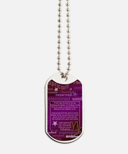 CAPRICORN BIRTHDAY Dog Tags
