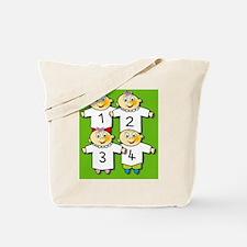 Quadruplets Tote Bag