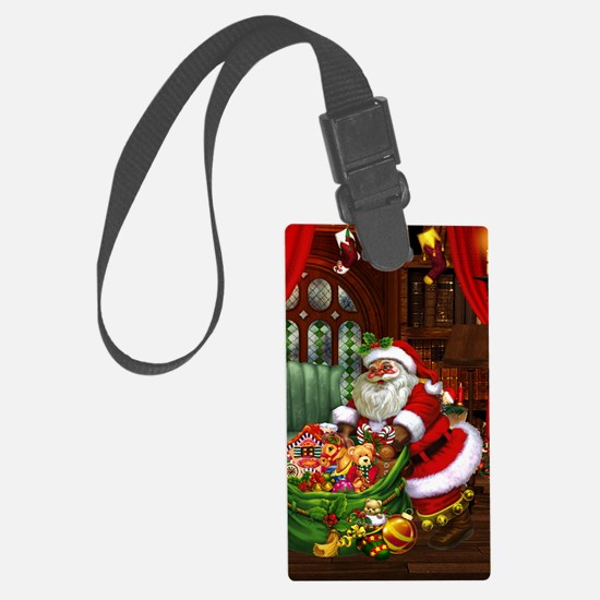 sc_wall_pell_35_21 Large Luggage Tag