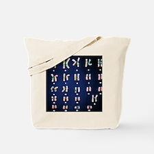 Normal female chromosomes Tote Bag