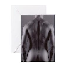 Nude man Greeting Card